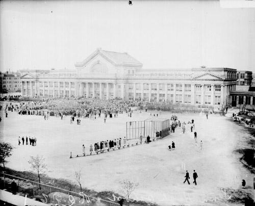 Senn High School Main Campus 1913